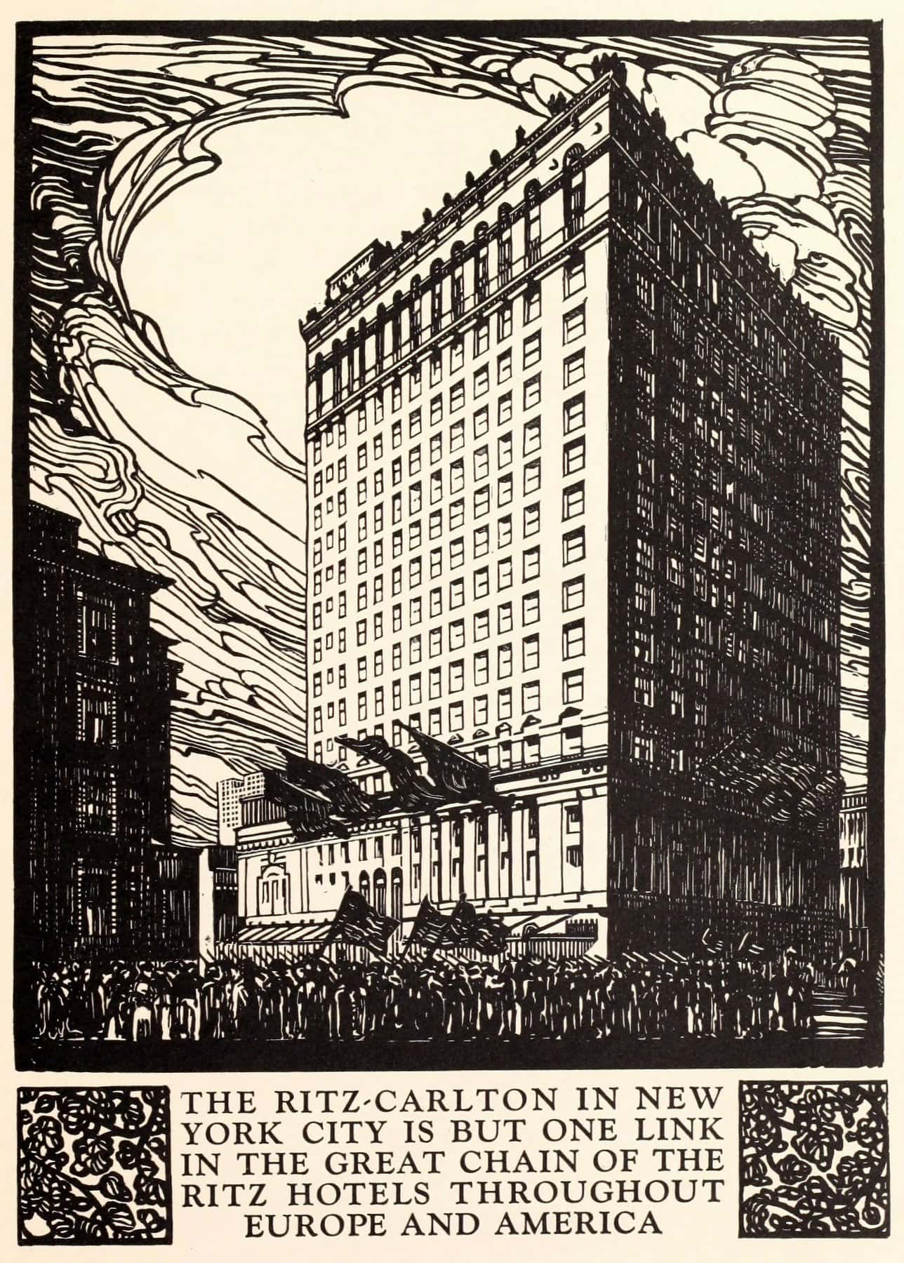 The Ritz-Carlton Hotel booklet from 1919 (1) - ClickAmericana com