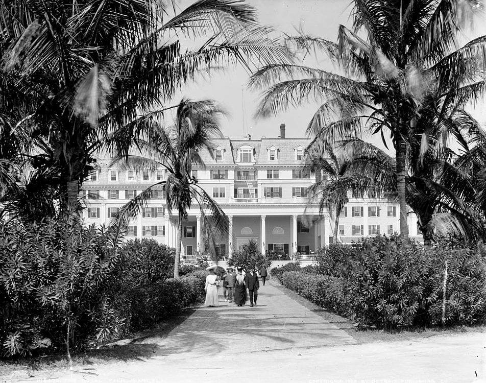 The Royal Palm, Miami, Florida 1905