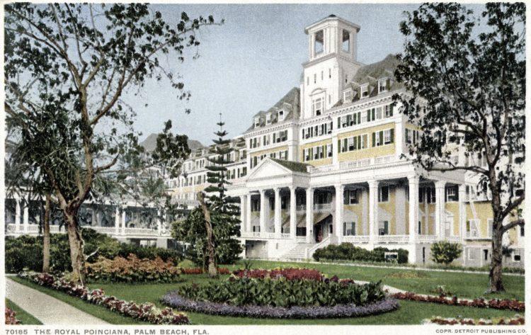 The Royal Poinciana, Palm Beach, Florida 1898