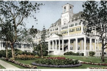 The Royal Poinciana, Palm Beach, Florida 1898