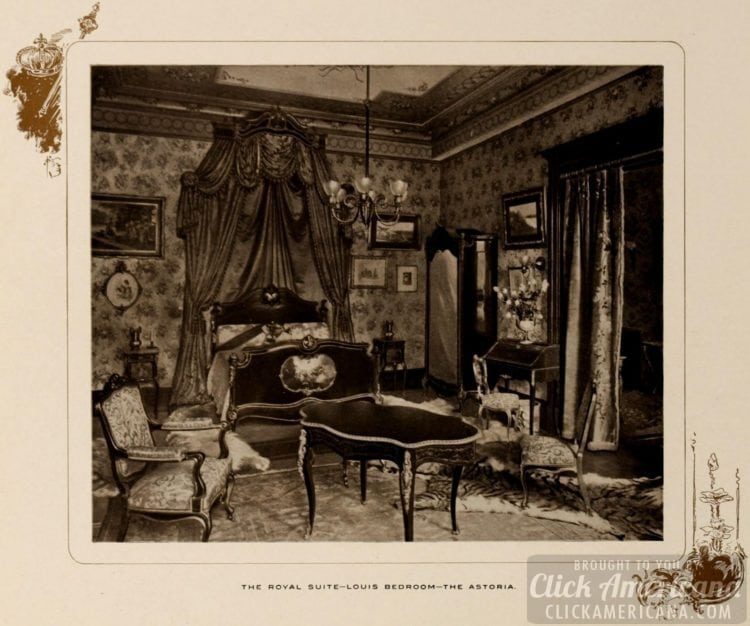 The Royal Suite - Louis Bedroom - The Astoria Hotel