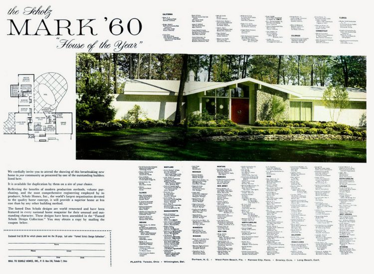 The Scholz Mark 60 House of the Year