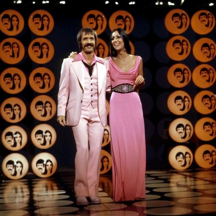 The Sonny and Cher Show - Sonny Bono and Cher - 1970s