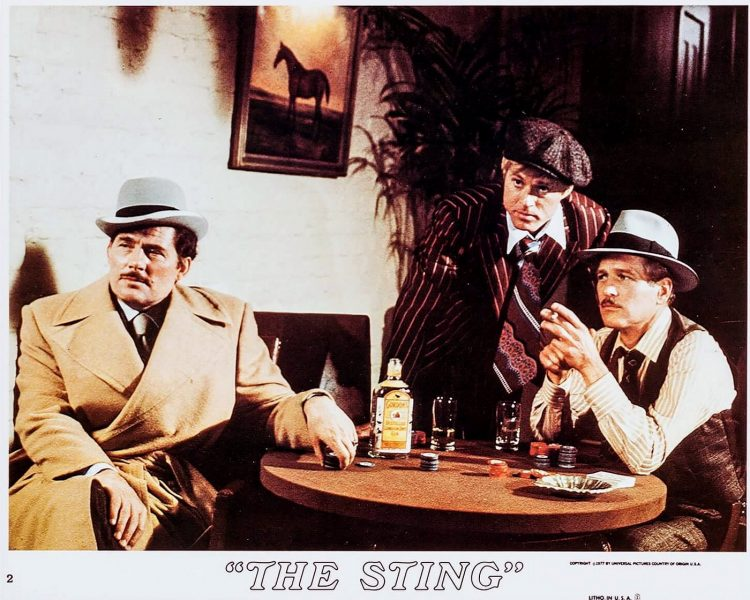 The Sting - Lobby card