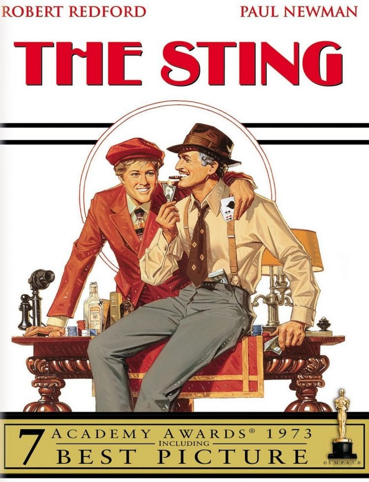 The Sting - movie cover
