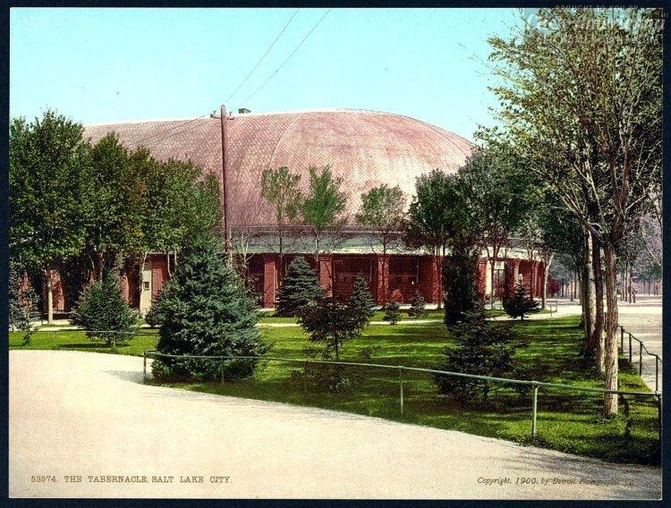 The Tabernacle, Salt Lake City in 1900