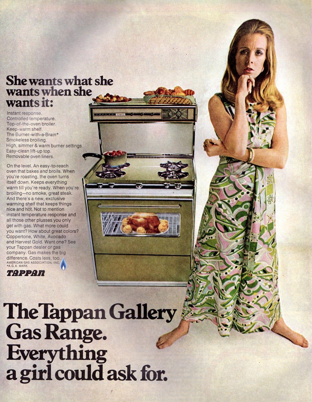 The Tappan Gallery Gas Range (1968)