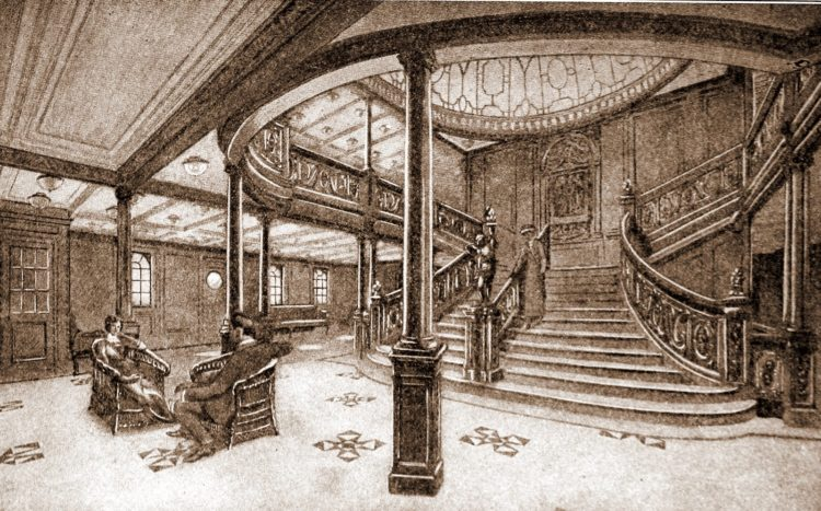 The Titanic - Grand staircase
