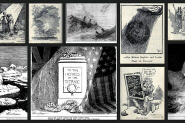 The Titanic disaster, as seen in editorial cartoons (1912)