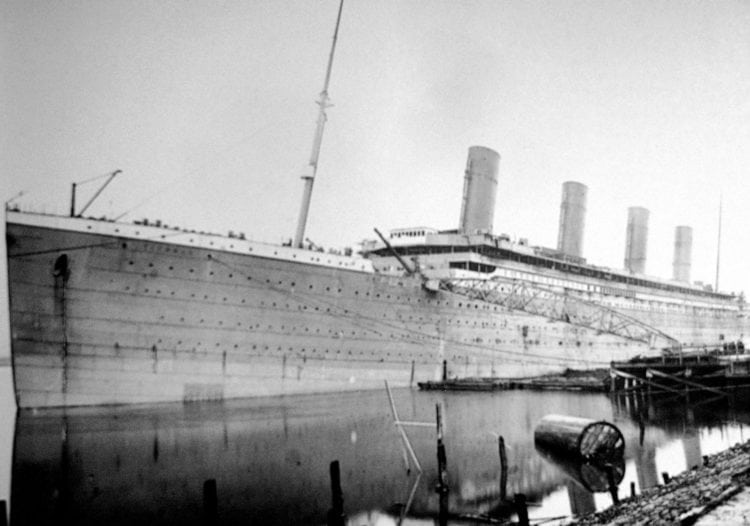 The Titanic in Belfast - 1912