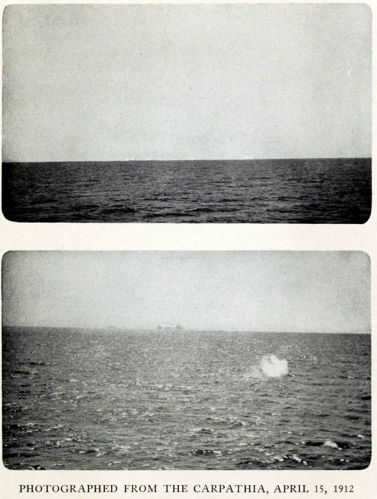 The Titanic sinking aftermath (1)