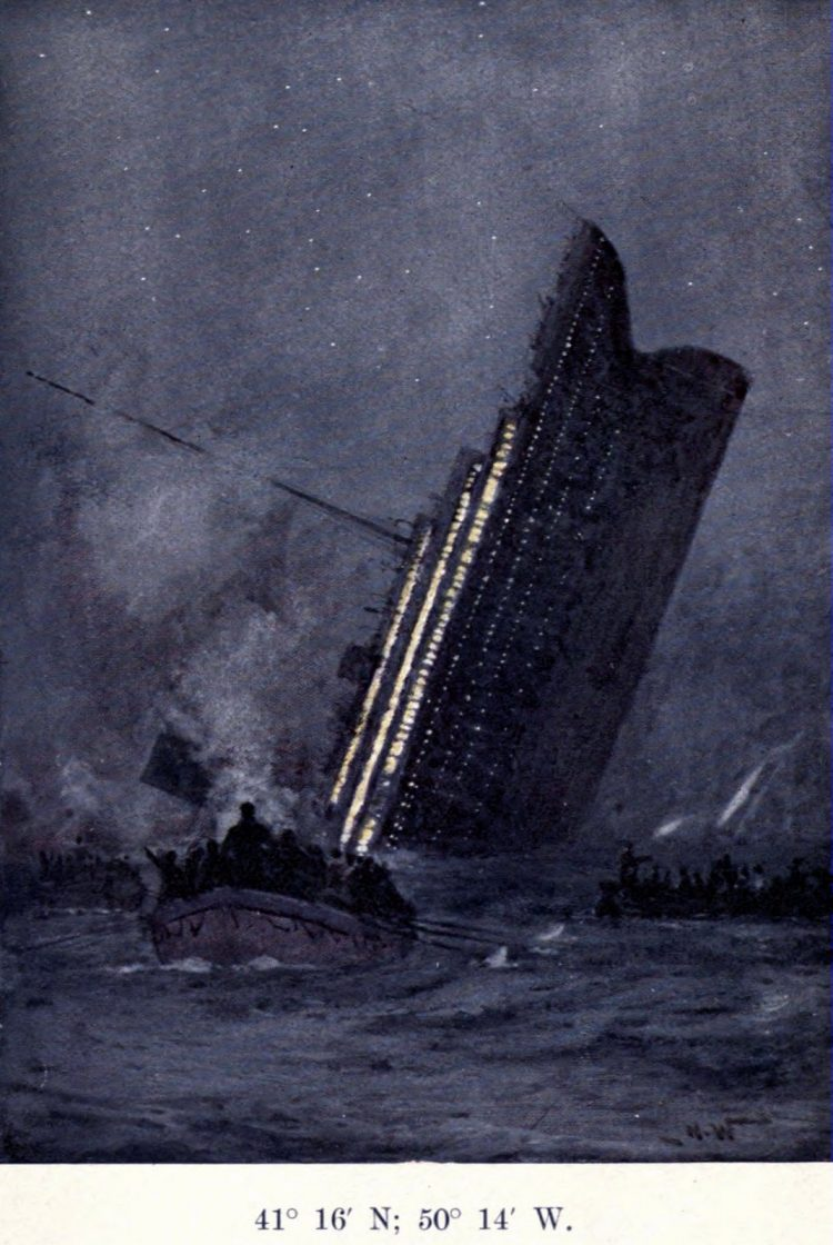The Titanic sinking aftermath (2)