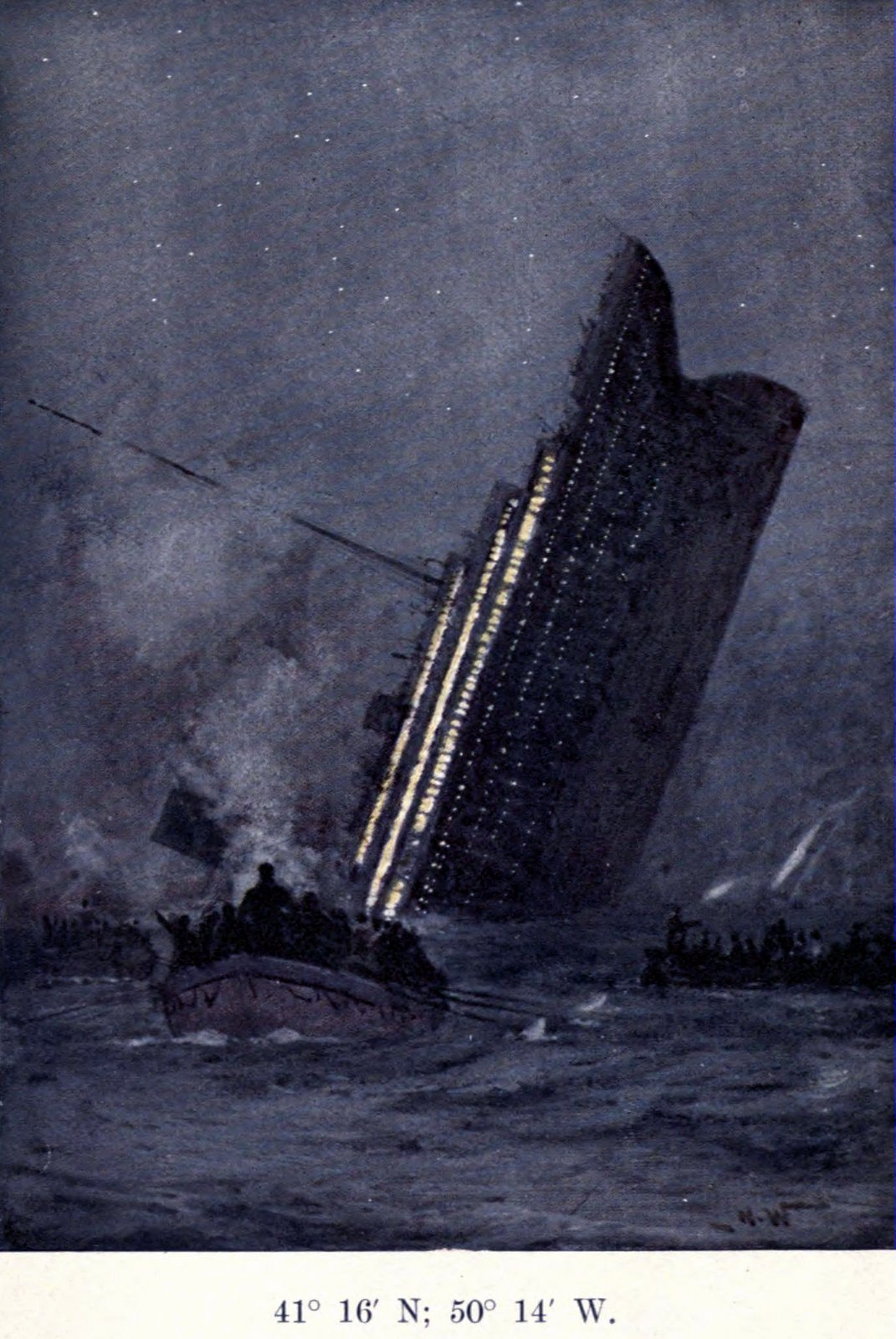 The Titanic S Terrifying Last Moments Before Sinking To The
