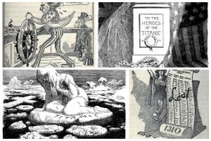 The Titanic tragedy, as seen in editorial cartoons published right after the disaster (1912)