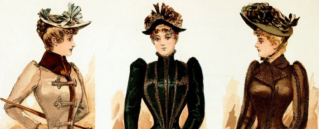 The Victorian lady's way to keep warm Fall & winter clothing from 1891