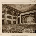 The Waldorf-Astoria grand ball room as a theater - 1903