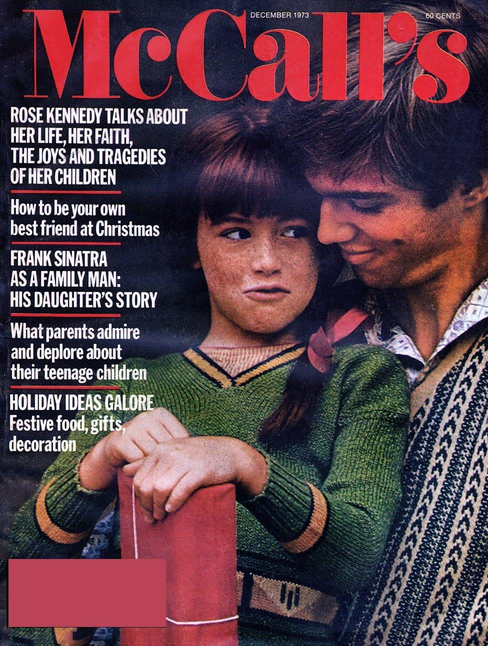 The Waltons McCalls magazine cover (1973)