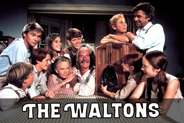 The Waltons - vintage TV show cast