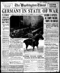 The Washington times., July 31, 1914