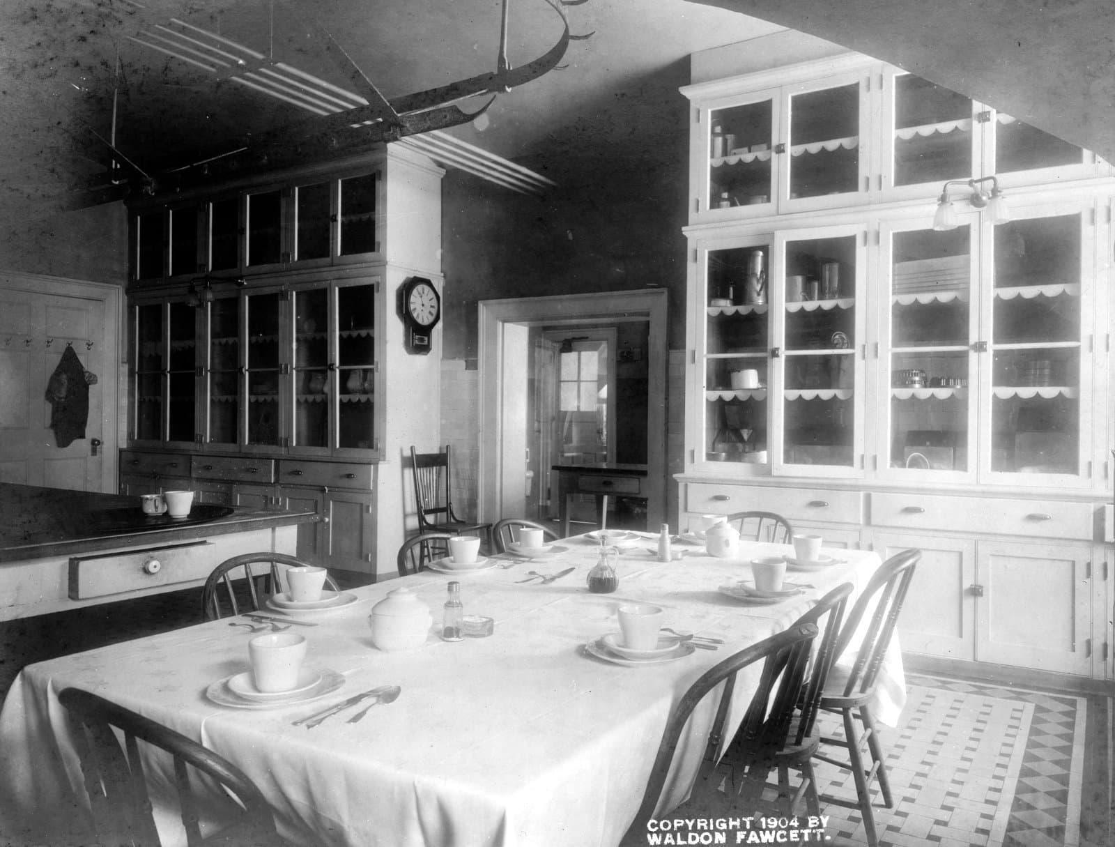 The White House kitchen (c1903)