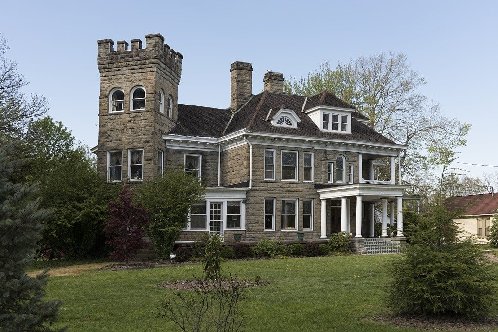 The William Post Mansion, also known as the Post Mansion Inn, historic home in Buckhannon, West Virginia