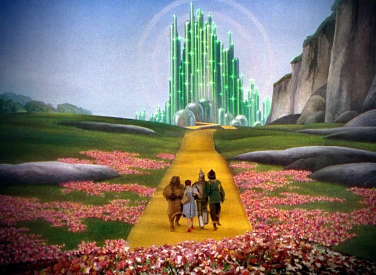 The Wizard of Oz - Follow the yellow brick road