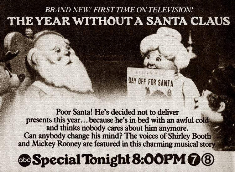 The Year Without a Santa Claus on TV - 1974