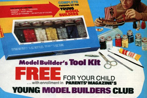 The Young Model Builders Club Fun from the 1960s
