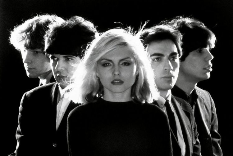 The band Blondie in 1977