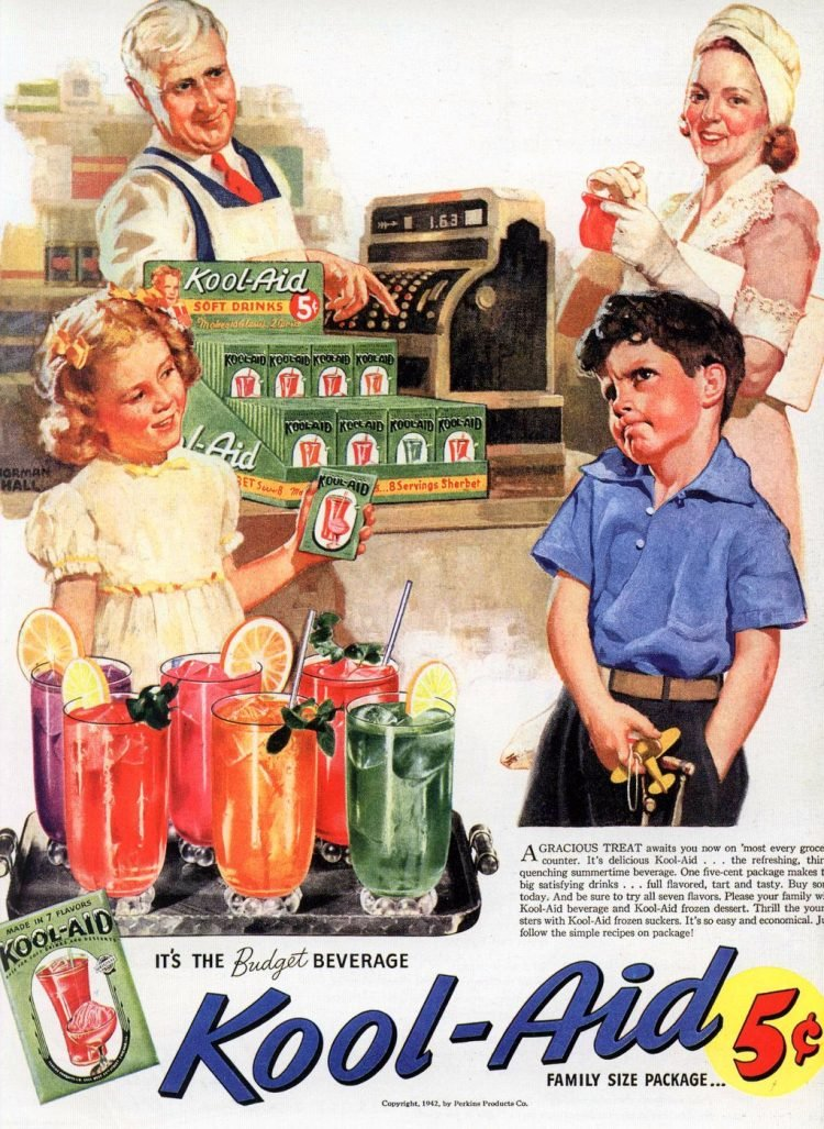 The budget beverage - Kool Aid 1945