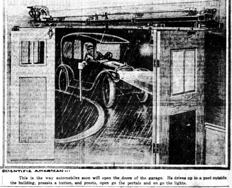 The car of the future - Imagined from 1918 (2)