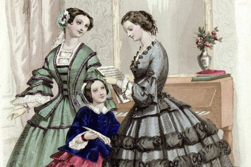 The etiquette of courtship Love letters (1850)