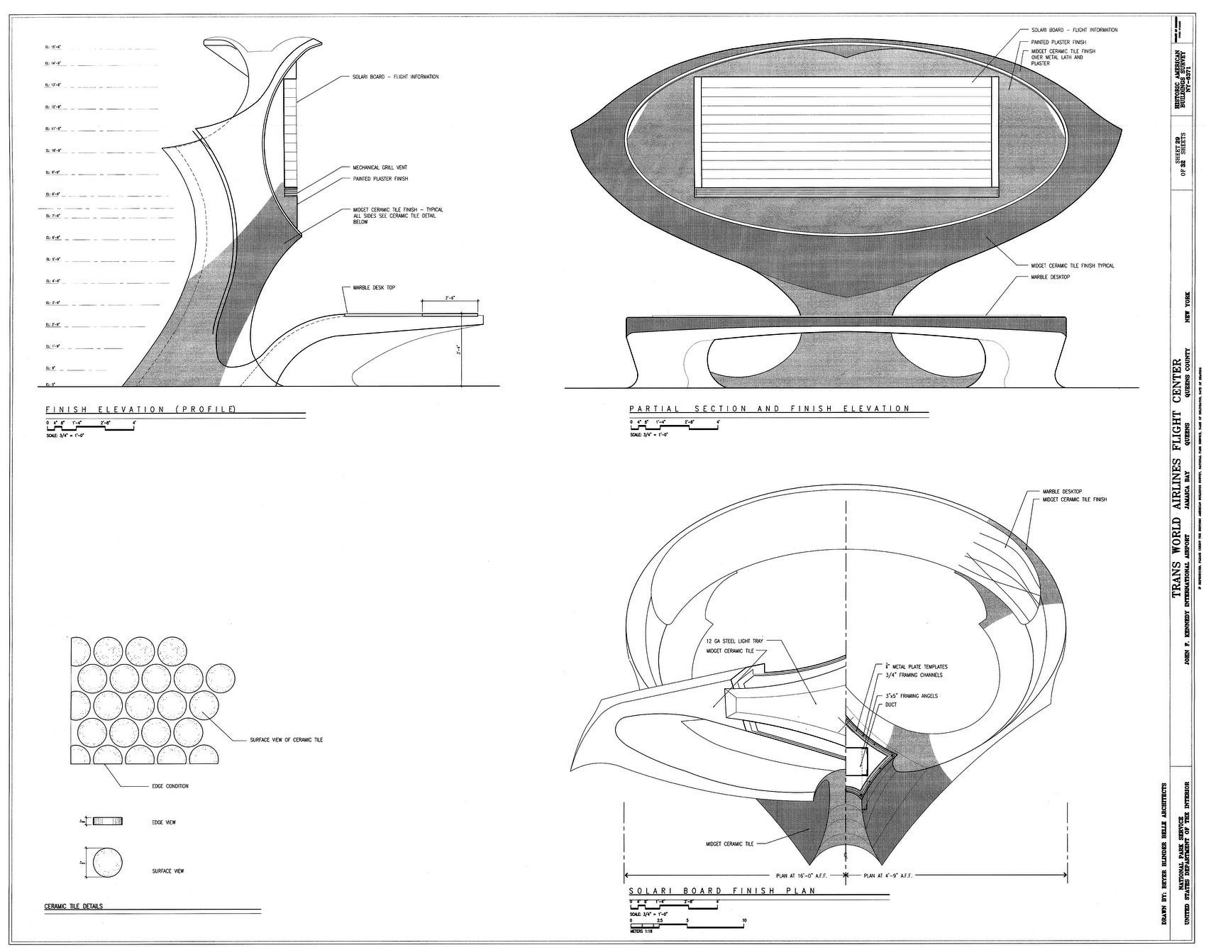 The famous Solari board airport information desk design - 1960s architecture