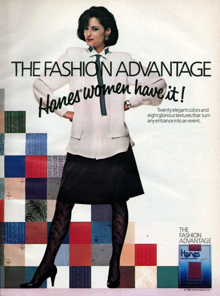 The fashionadvantage Hanes women have it 1985