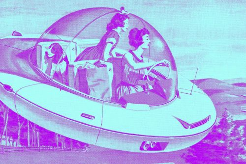The future Your own personal flying cars, powered by electricity