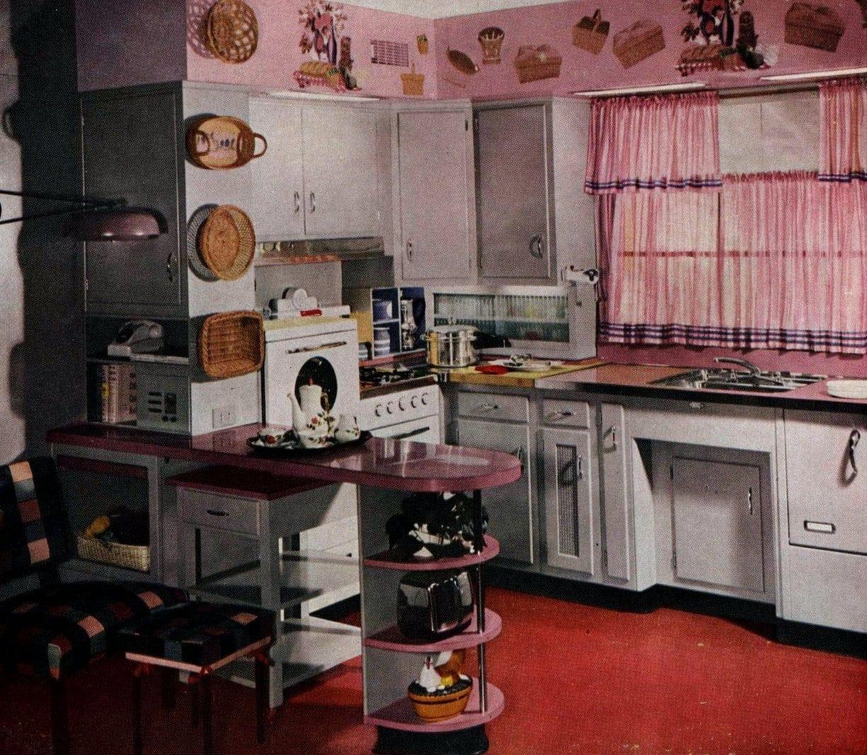 The heart saver Remodeled kitchen design 1955