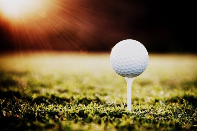 The history of golf balls