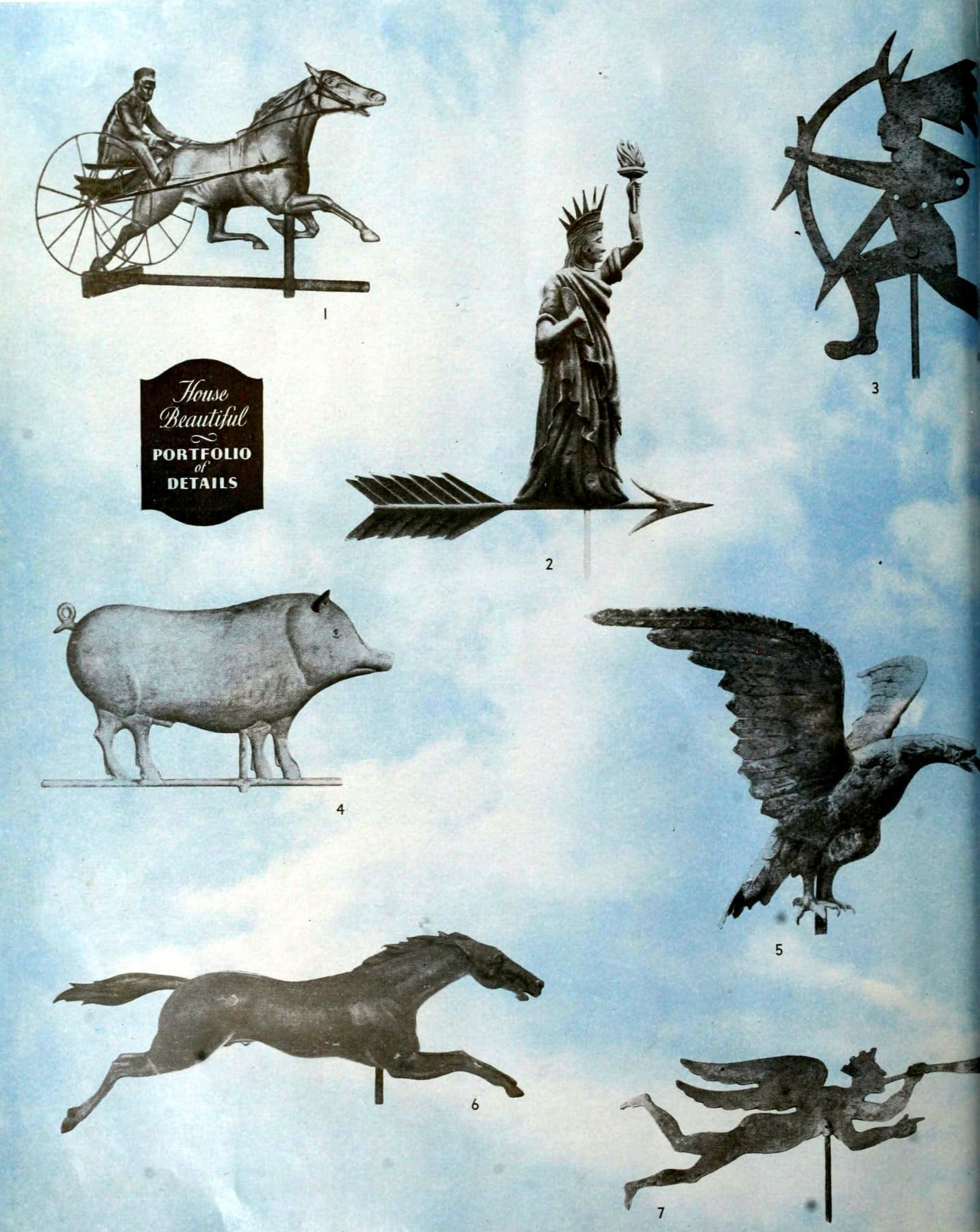 The history of old American weathervanes (1)