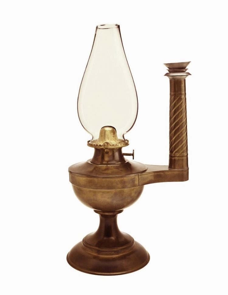 The history of the oil lamp Irwin's Patent - Smithsonian