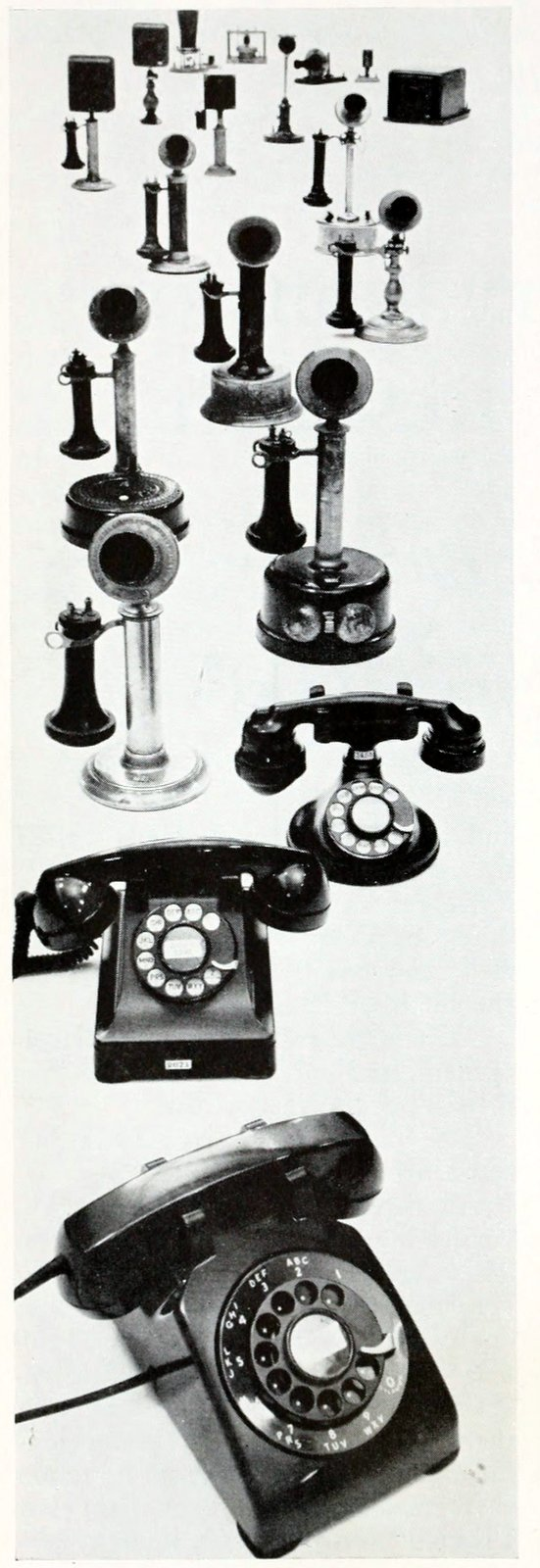 The history of the telephone - Early phone models (2)