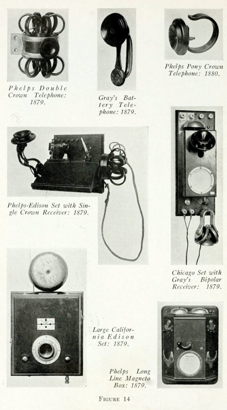 The history of the telephone - Early phone models (9)