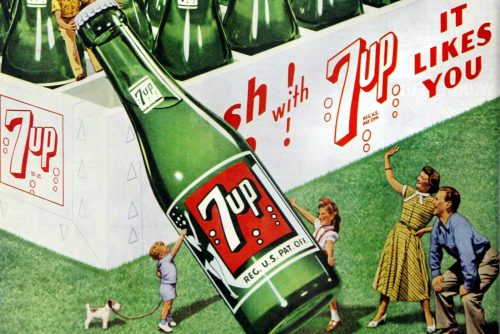 The history of vintage 7-Up soda