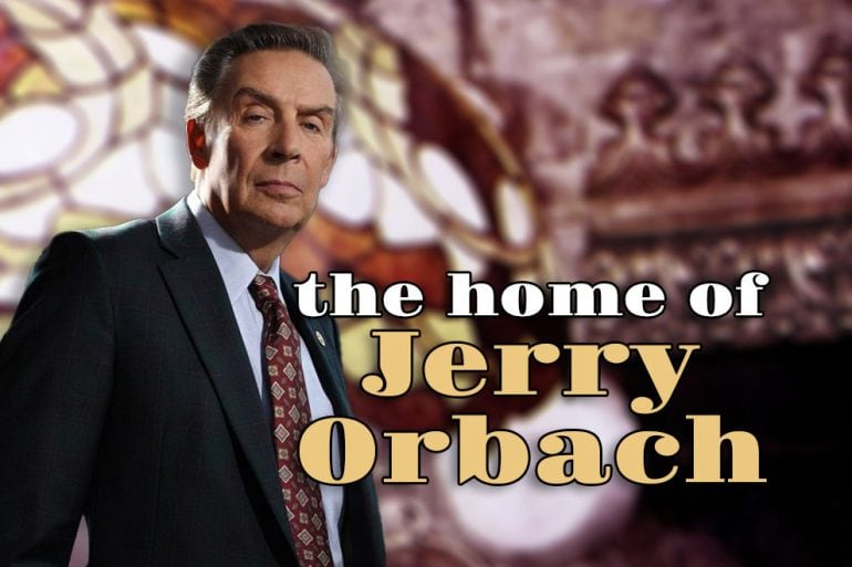 The home of Jerry Orbach 1970