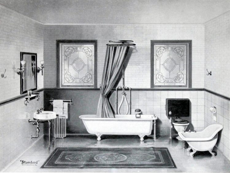The hottest antique bathroom fixtures from the turn of the century (1)