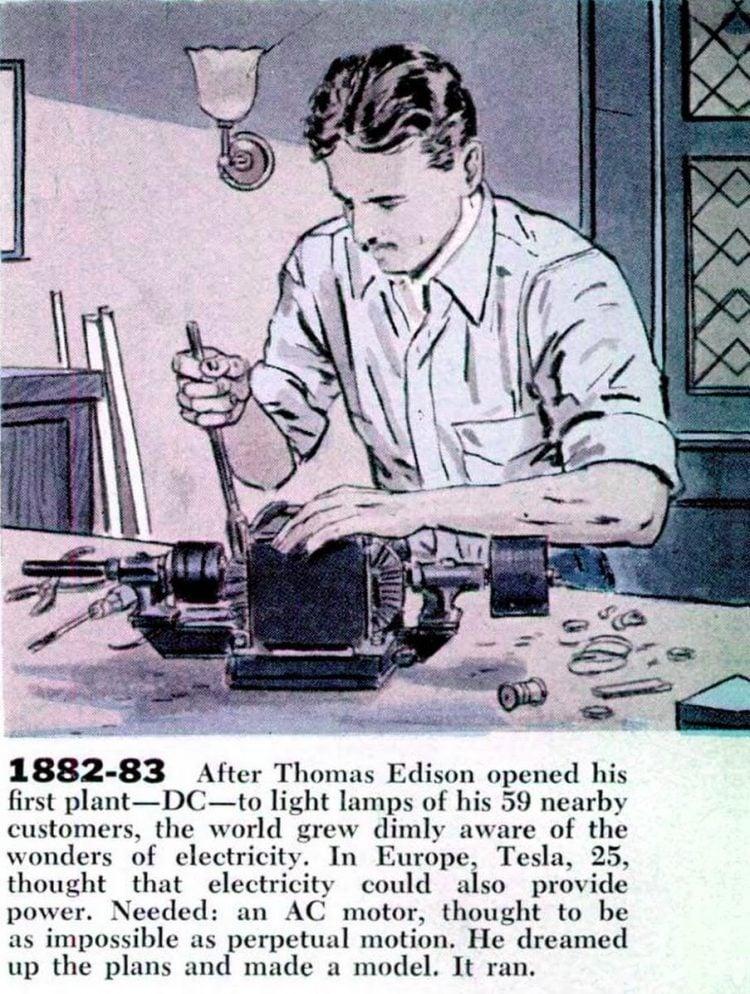 The life story of genius Nikola Tesla - From 1956 (4)