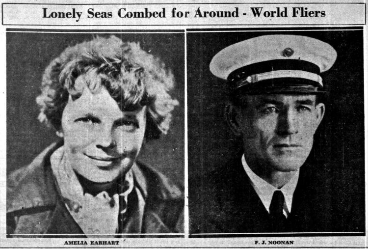 The missing fliers - Amelia Earhart and Fred Noonan