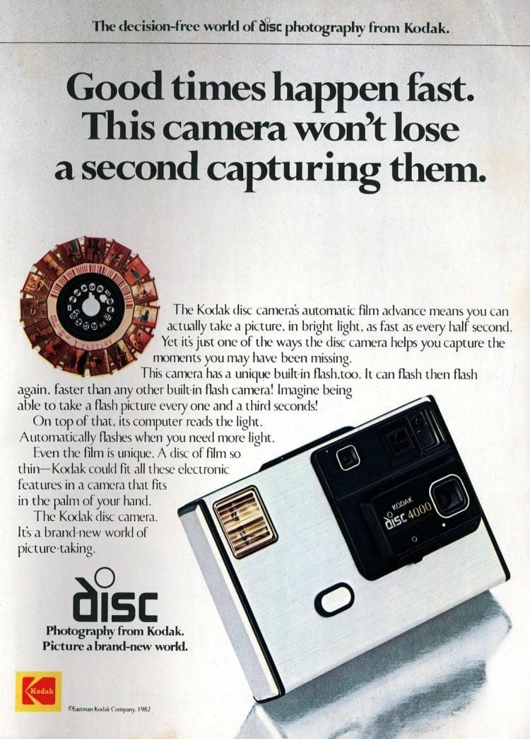The new Kodak disc camera introduction - July 1982