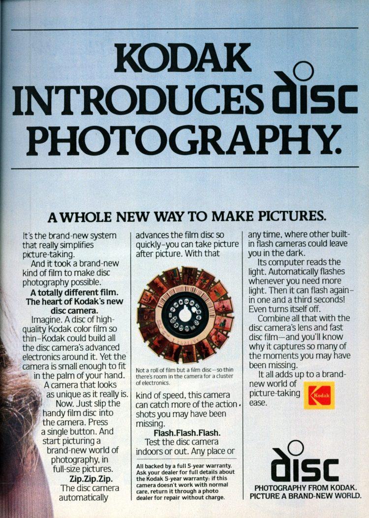 The new Kodak disc camera introduction - June 1982 (2)