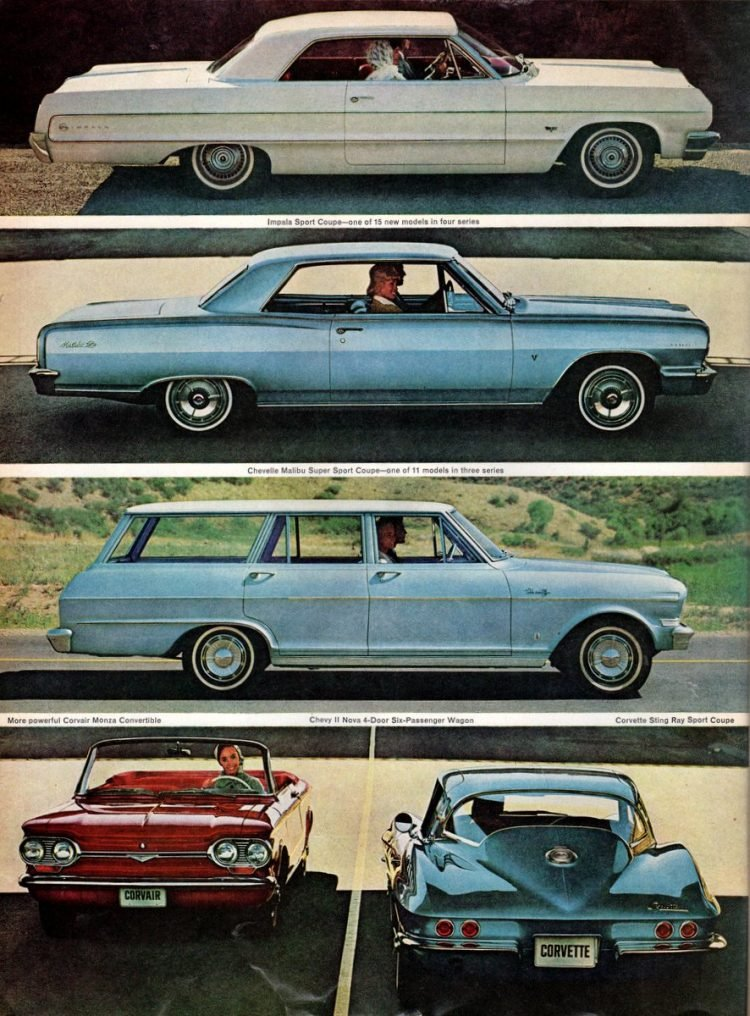 The new jet-smooth luxury Chevrolets for 1964