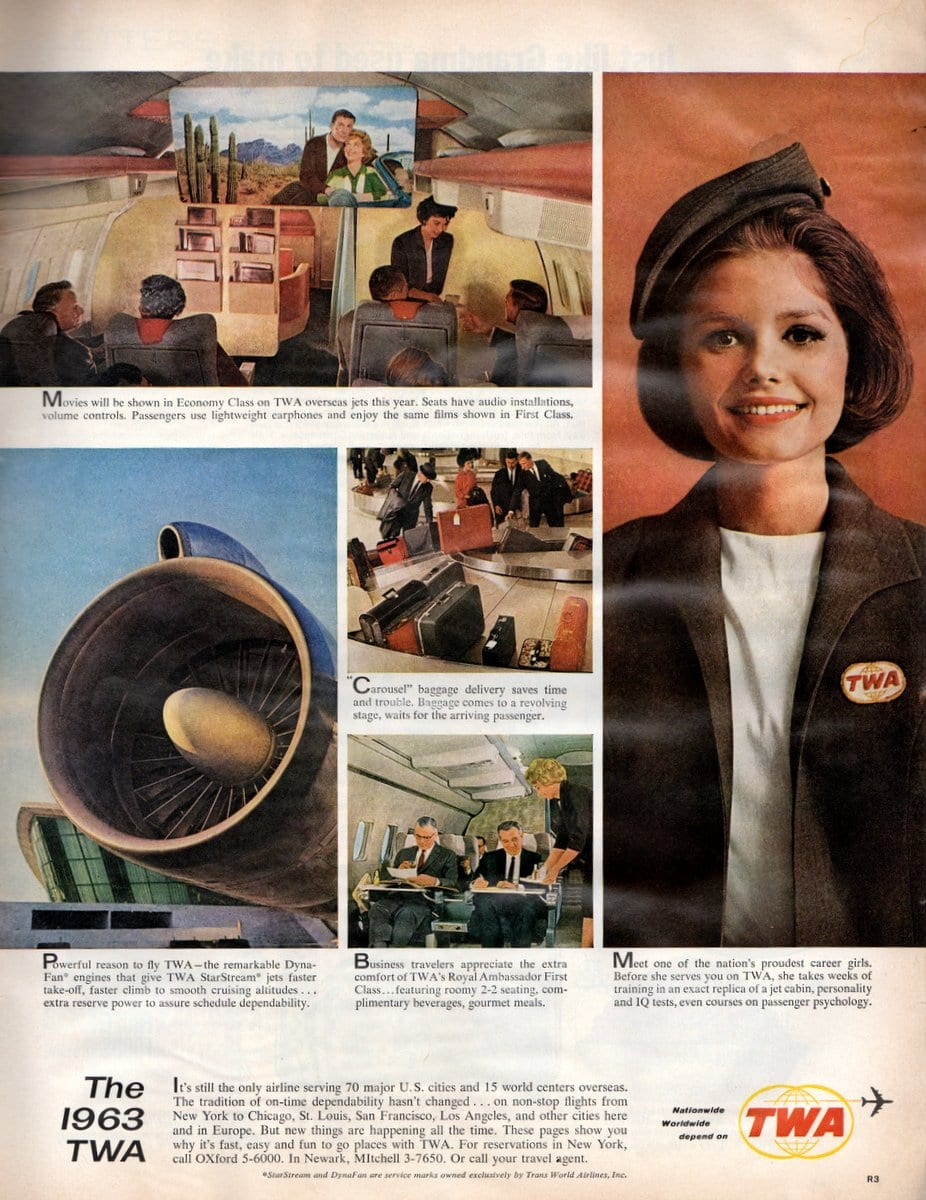 The new look of TWA airlines 1963 (1)